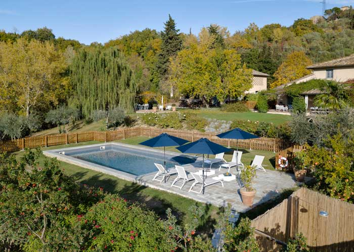 Luxury villas in Tuscany with pool